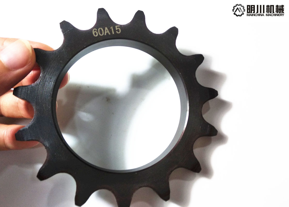 Industrial Standard Plate Wheel Sprockets With Blacken Surface Treatment